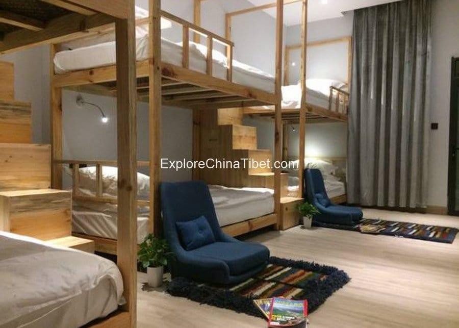 Pomi (Bomi) Phuntsok khang Sang Dormitory Room