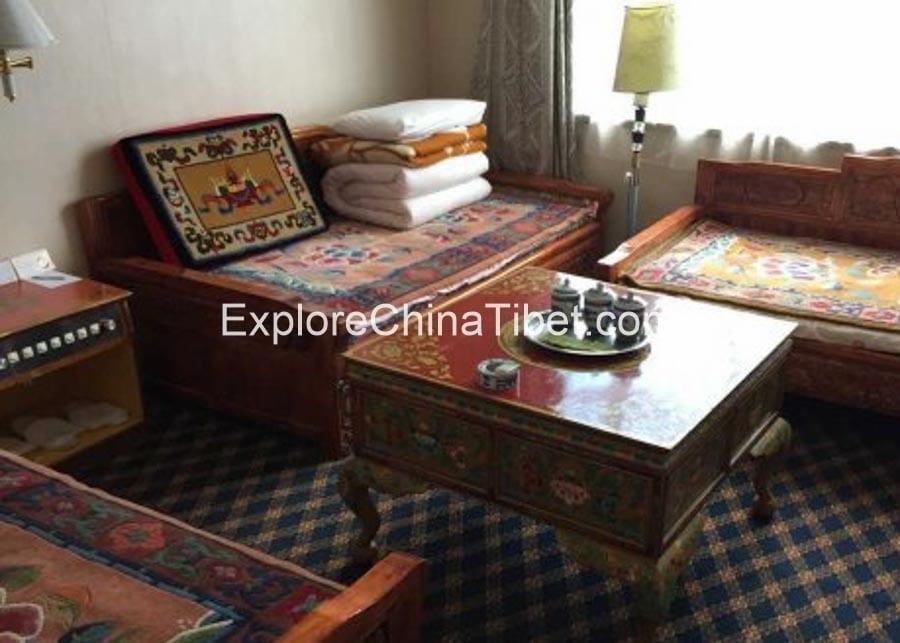Gyantse Hotel Triple Room