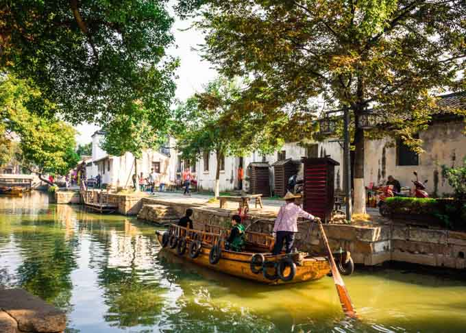 Suzhou and Tongli Water Town Day from Shanghai Featured