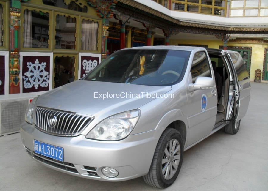 Full Size Van Rental >> Tibet Tourism Vehicle Buick Van Rental Tibet Lhasa Car