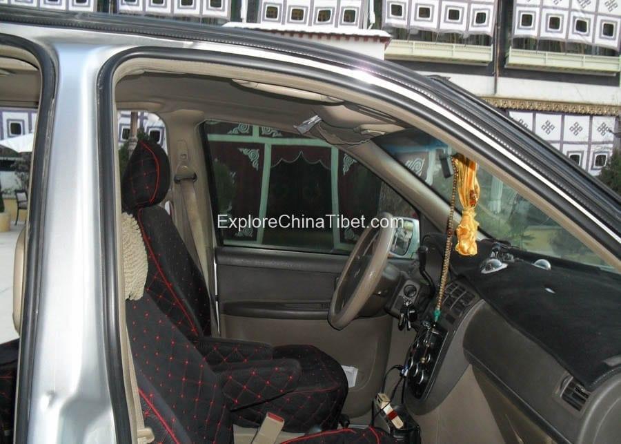 Tibet Car Rental Buick Van Rental- Interior