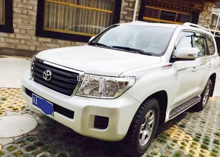 Tibet Car Rental Land Cruiser-Appearance 3