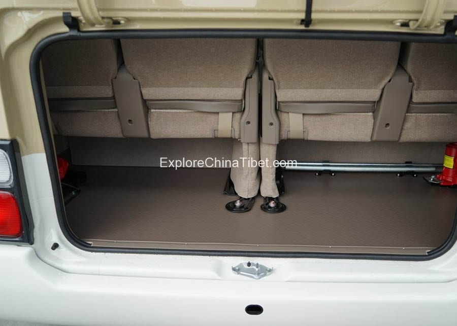 Tibet Car Rental Toyota Coaster-Interior 3