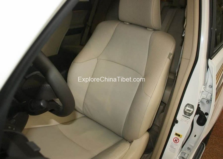 Tibet Car Rental Toyota Prado-Driving Seat 1