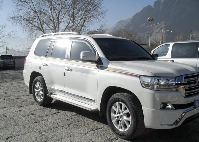 Tibet Car Rental Toyota Prado Featured