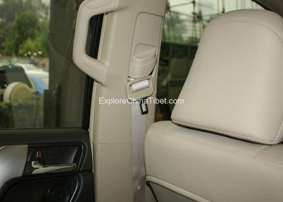 Tibet Car Rental Toyota Prado-Interior 2