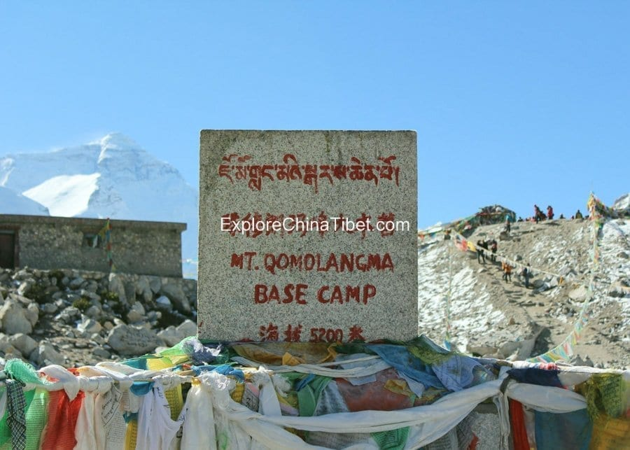 Tibet Famous Trekking Destination Everest Base Camp