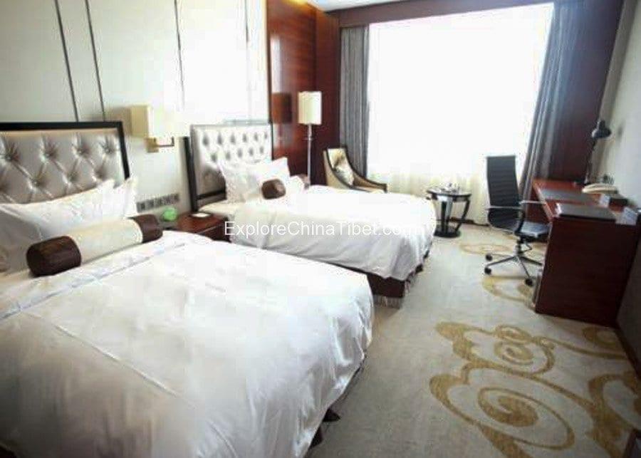 Tibet Linzhi Hotel Deluxe Twin Room with Garden View