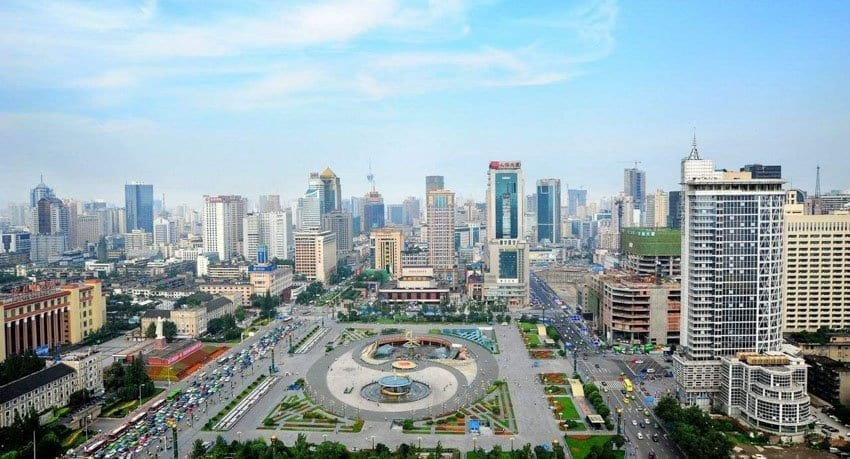 Top 10 Chengdu Hotels-Tianfu Square