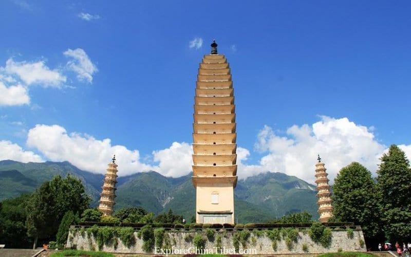 Top Tibet China Tour Attractions - Dali Three Pagodas Exploration Trip