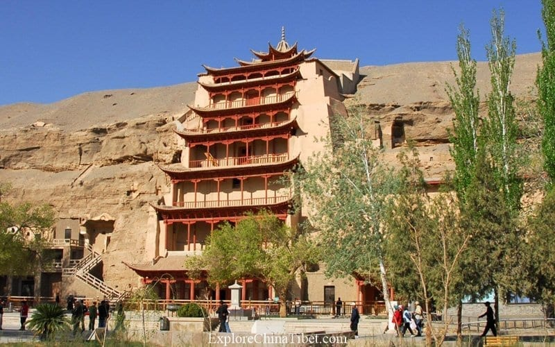 Top Tibet China Tour Attractions - Mogao Caves Chinese Culture Exploration Tour