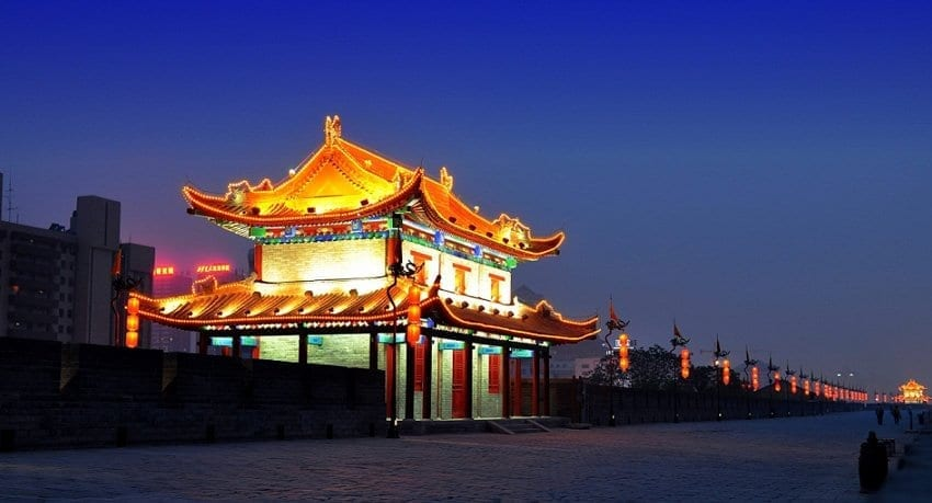 Xi'an Travel Attractions Name-Xi'an Ancient City Wall