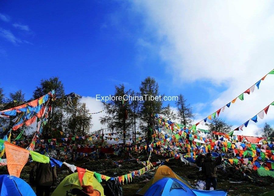 8 Days Kangding Hiking Tour-Yala Youcuo Campsite Tour 8