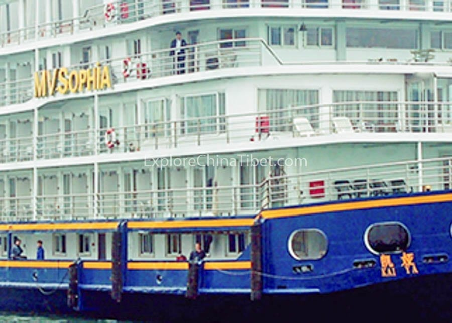 Yichang to Chongqing Victoria Sophia Cruise-5