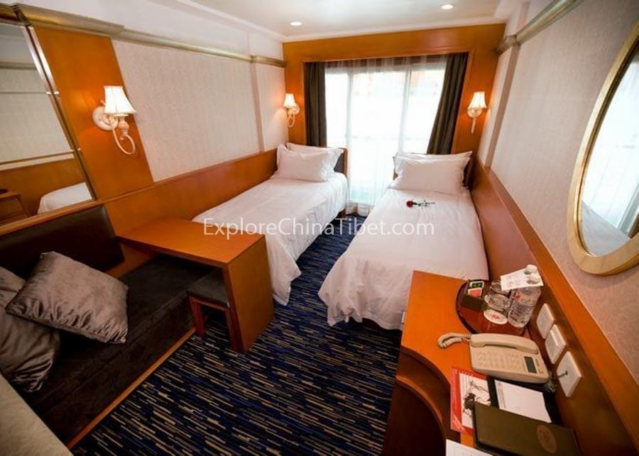 Yichang to Chongqing Victoria Sofia Cruise Superior Cabins