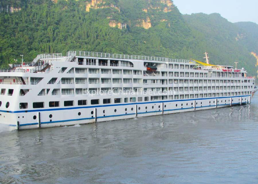 Yichang to Chongqing Yangtze Gold 8 Cruise 1
