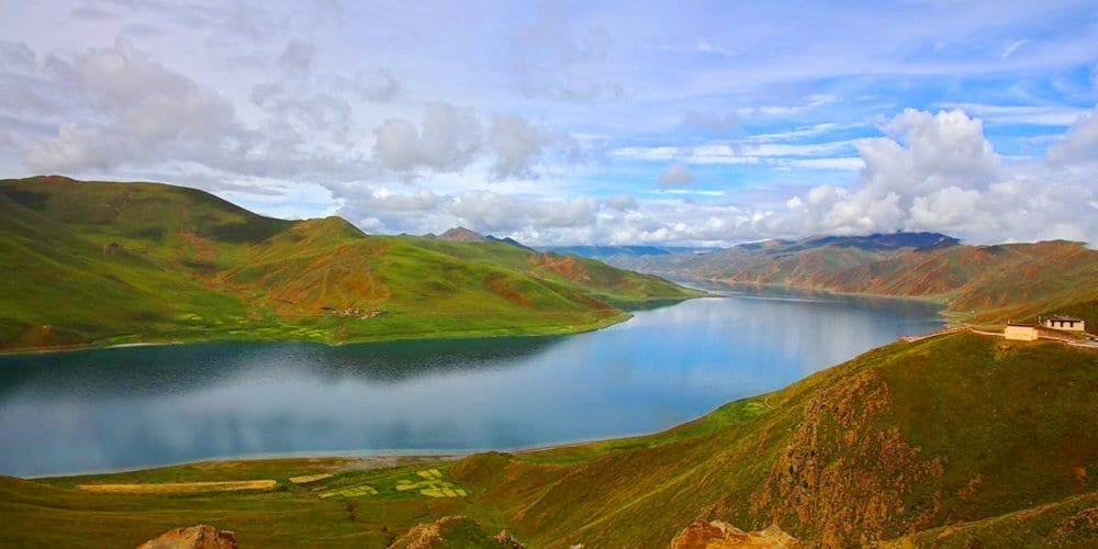 yamdroktso Lhasa famous journey