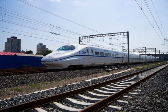China High Speed Train travel