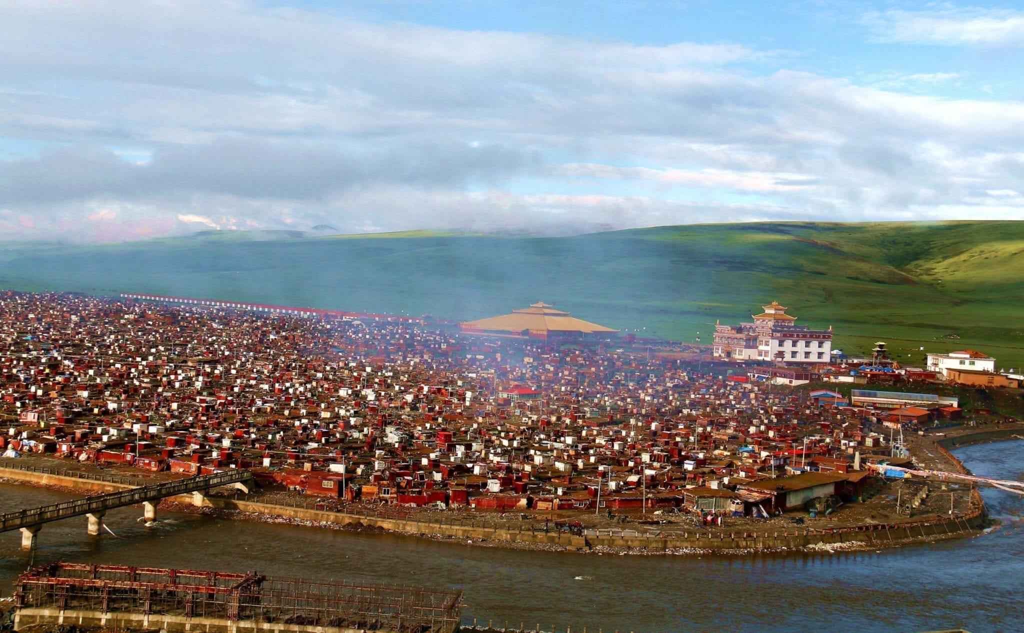 Yaqing Monastery-Yarchen Gar Baiyu County Tibetan Kham Sichuan