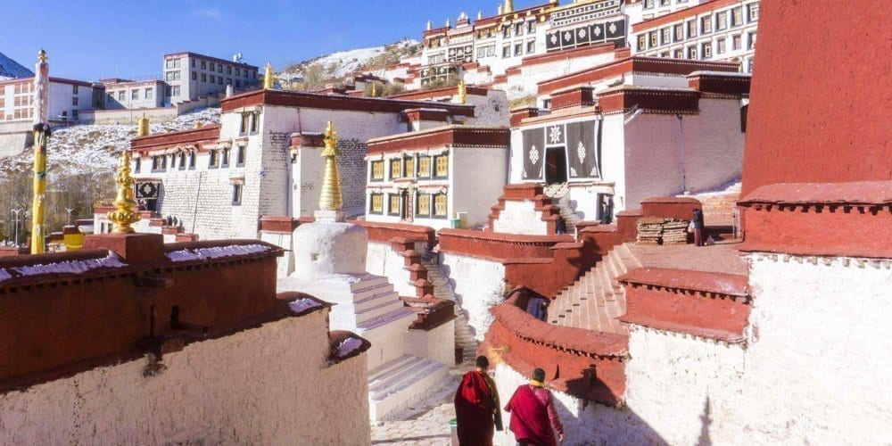 Amazing Journey to Lhasa Ganden monastery