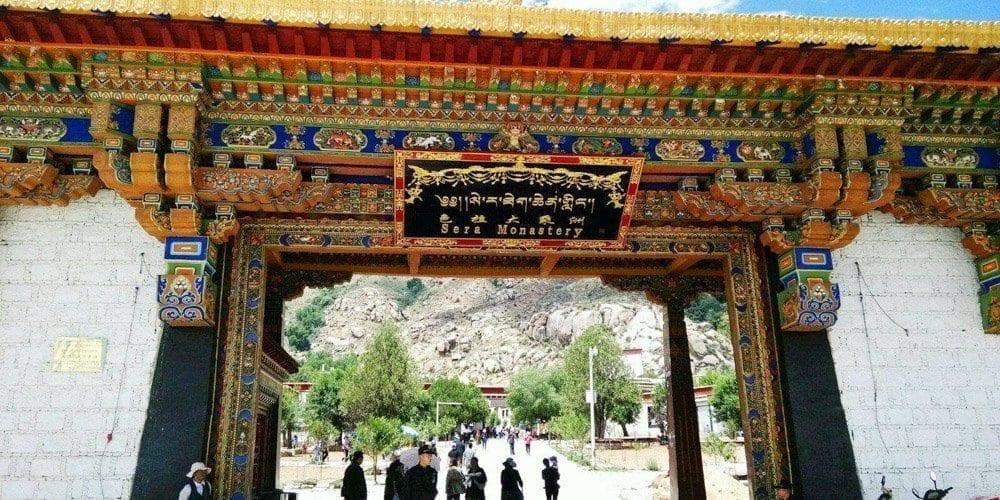 Journey to Lhasa Sera monastery