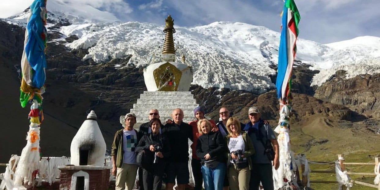 Karola Glacier Lhasa Kathmandu Overland tour of Tibet-Visit Tibet tour service