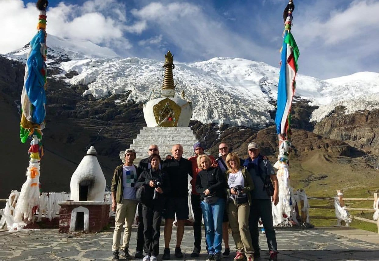 Karola Glacier Lhasa Kathmandu Overland tour