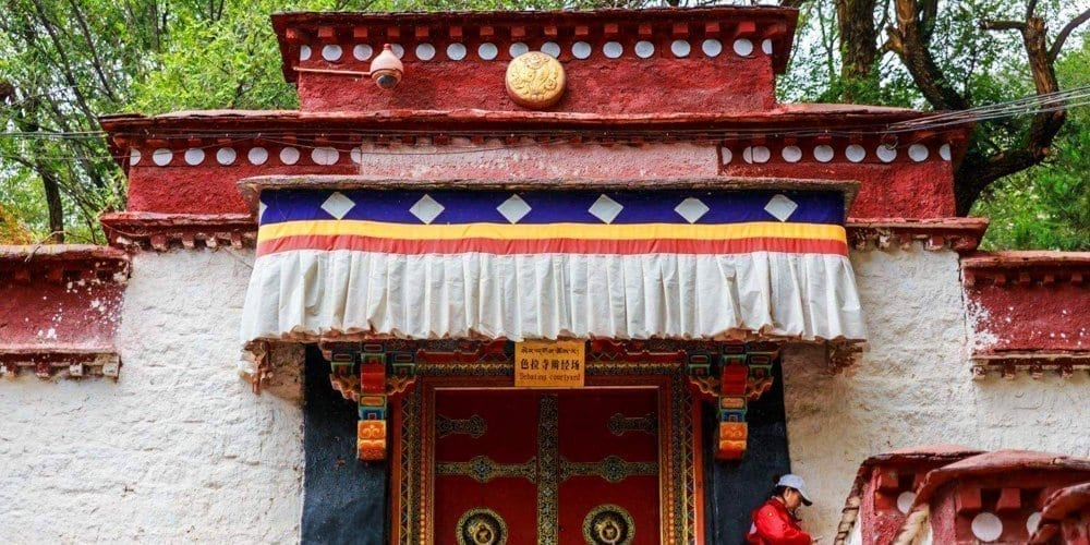 Lhasa Sera monastery tour with local agency