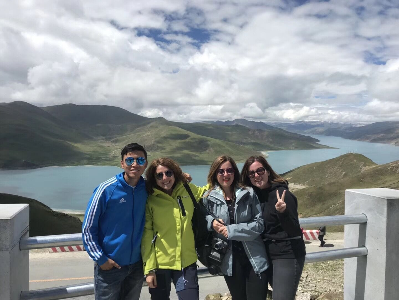 Nepal-Tibet Overland tour Yamdrok visit