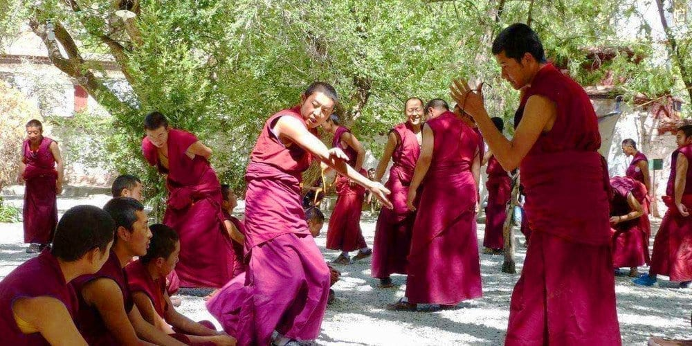 Tibet Lhasa Sera monastery attraction tour