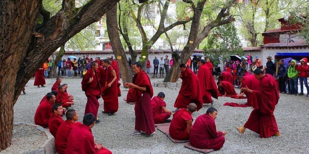 Tibet Lhasa Sera monastery attraction trip