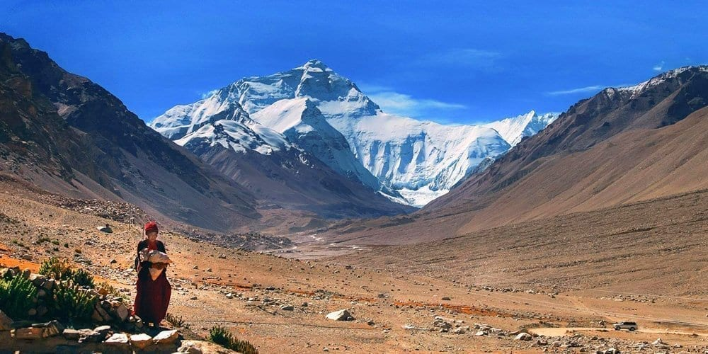 Tibet Mt Everest base camp tour