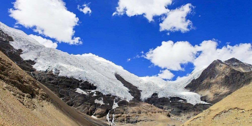 Karola glacier travel of Tibet photography