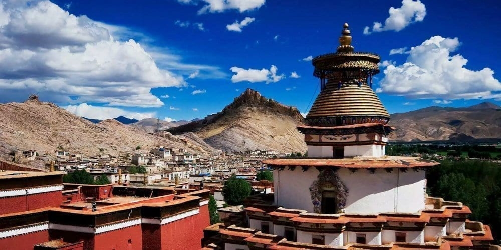 Visit Tibetan Gyantse Pelkhor Chode monastery