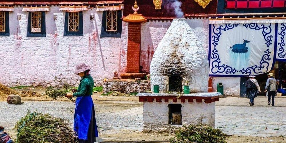 Samye Monastery travel experience in Tibet