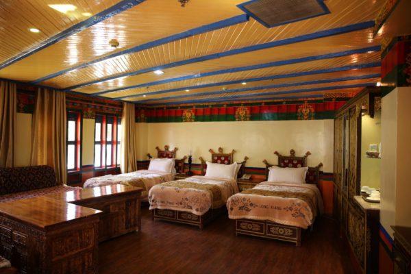 Dhood Gu Hotel Comfortable Family Room